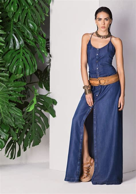 Dress Mesya studio f summer 2015 denim summer