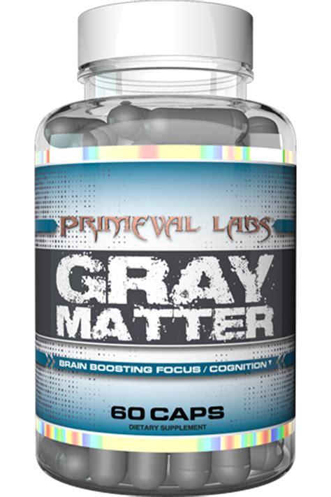 gray matter primeval labs gray matter serious brain gains