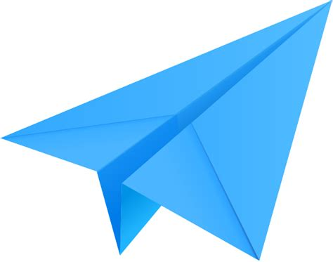 light blue paper plane paper aeroplane vector icon data
