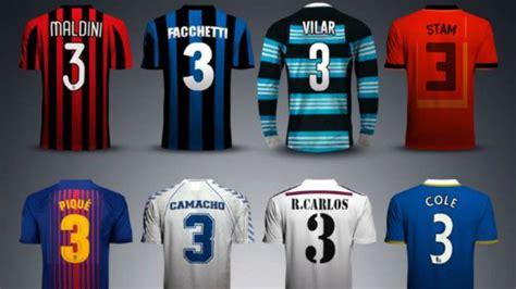 los  legendarios futbolistas  el dorsal  cual es