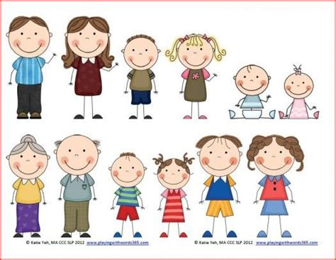 family clipart doodle family clipart 35