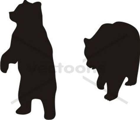 standing bear cub silhouette rv logo ideas pinterest