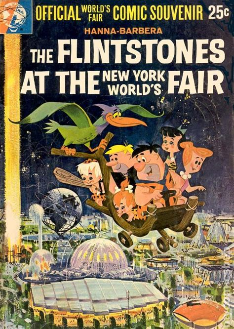 the comic book story of the world s favorite beverage from 7000 bc to today s craft brewing revolution flintstones at the new york s world fair 1964 comic books