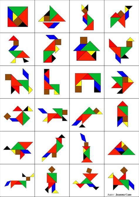 tangram cuadrado el as de los n 250 meros 161 el tangram