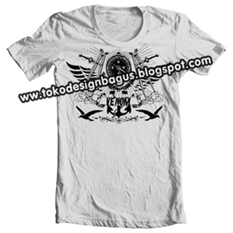 kaos desain jangkar kaos distro logo jangkar desain kaos desain t shirt