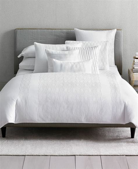 the hotel collection bedding closeout hotel collection embroidered diamonds bedding