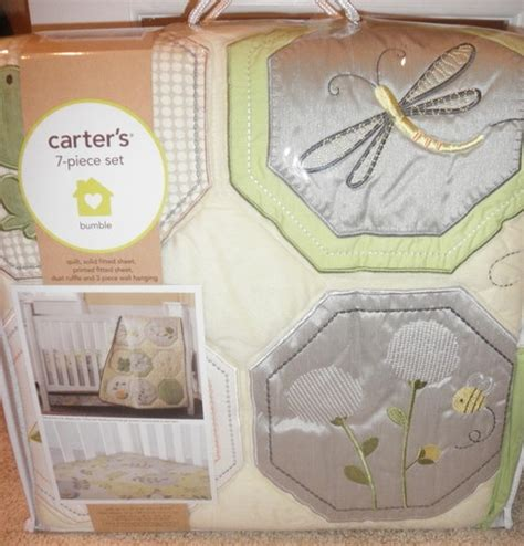 Bumble Bee Crib Bedding New Carters Bumble Bee 9 Nursery Crib Bedding Set Bumble Bees