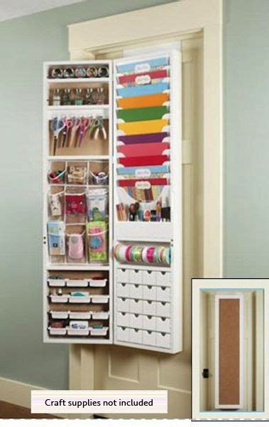 armoire craft storage avery elle clear st set handwritten notes craft