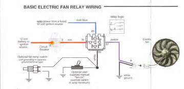 electric fan wiring diagram colours are as expected except for the switched live switches