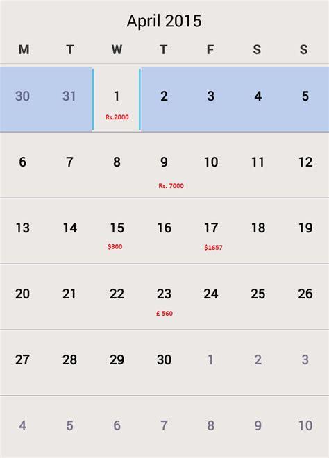 Calendar Api Java Android Calendar Api With Event Stack Overflow