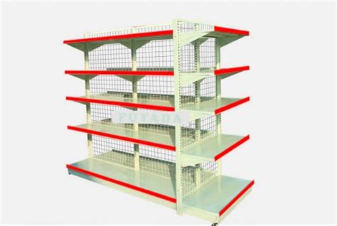 Shelf Company Warehouse Price List by China Gridwall Panel Grocery Wire Shelves Grocery