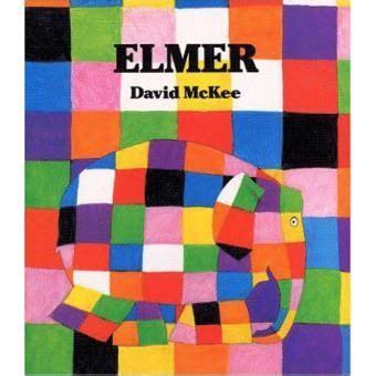 libro elmer elephant colours buggy un libro en la chistera