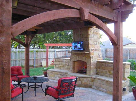 13 fireplaces diy outdoor shade structures western