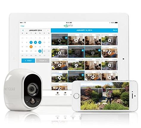 arlo smart home security system for indoor