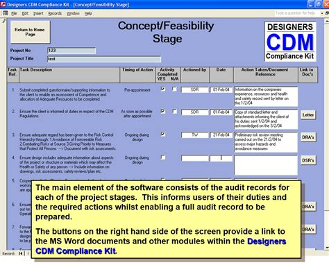 cdm 2015 compliance kit risk assesment for designers ssd