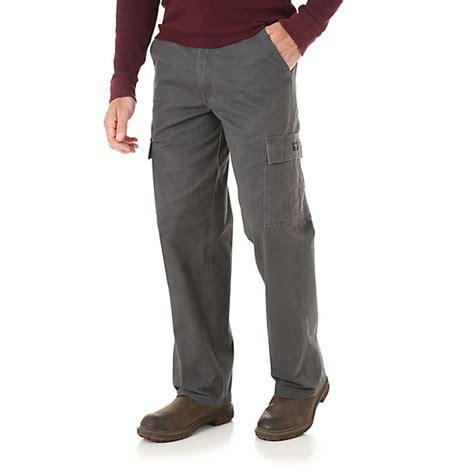 men s comfort waist pants wrangler 174 comfort flex waistband cargo pant mens pants