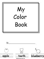 coloring book in his name for his books colors beginning readers books enchantedlearning