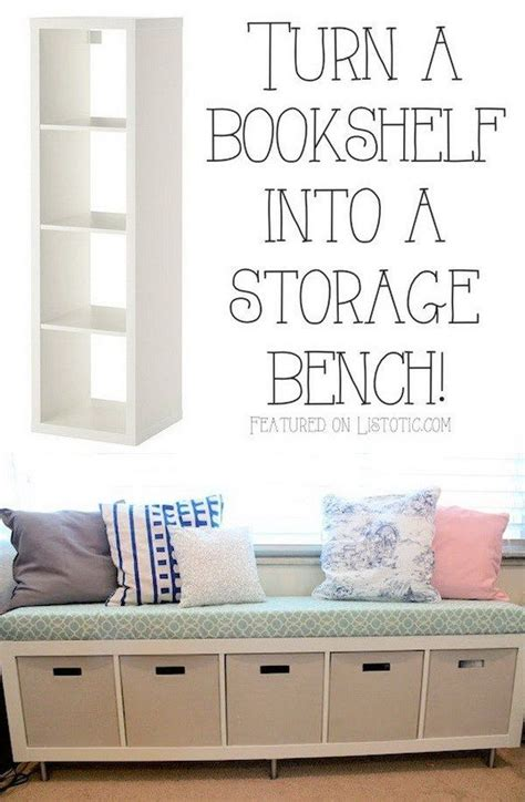 25 best ideas about ikea hack bench on pinterest 25 best ikea hacks storage bench seating bookshelf