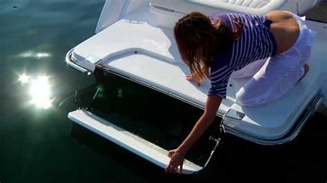 cobalt boats swim step the patented cobalt swim step youtube