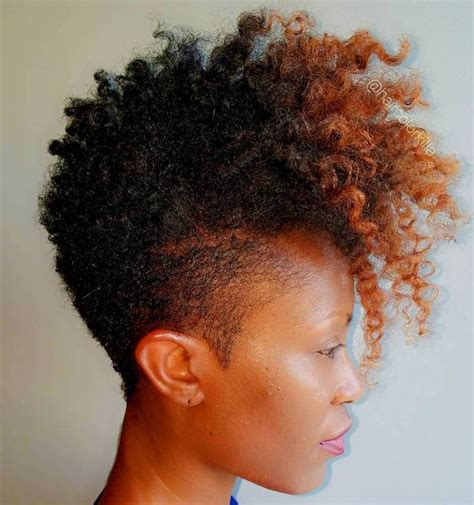 tapered afro hairstyles for women 40 cute tapered natural hairstyles for afro hair mohawks