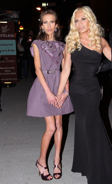 Allegra Versace Clings To In Anorexia Battle by Allegra Versace