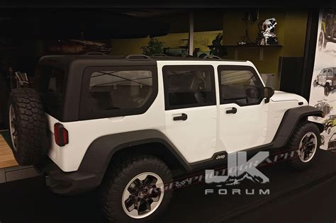 Jk Jeep Forum Leaked 2018 Jl Jeep Wrangler Unlimited Jk Forum