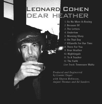 dear lyrics guster song meanings dear leonard cohen