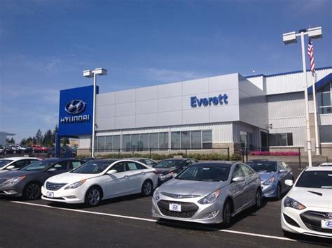 hyundai of everett hyundai of everett everett wa 98203 car dealership and