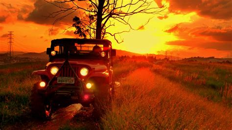 Jeep Sunset Panoramio Photo Of Sunset Jeep Carlos