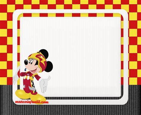 imagenes sorprendentes para niños marcos de mickey aventuras sobre ruedas marcos infantiles
