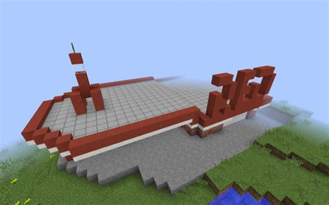 minecraft truck stop rocket truck stop from fallout 4 minecraft project