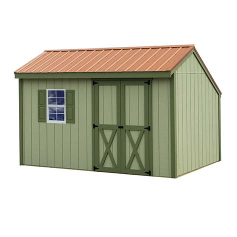 best sheds best barns aspen 12x8 wood shed aspen812 free shipping