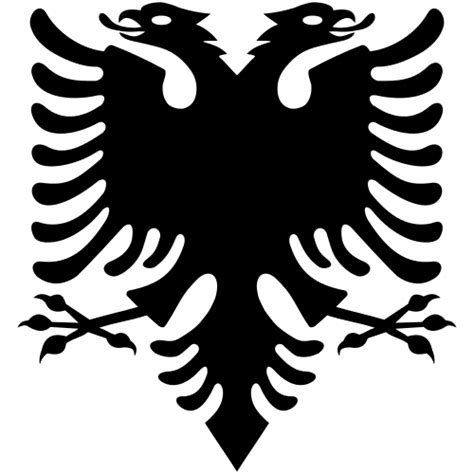 Albanian Flag Outline by Albanian Eagle Svg Clipart Best Clipart Best
