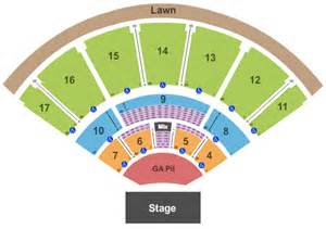 mid florida hitheater seating map concert venues in ta fl concertfix