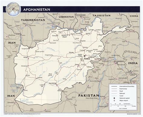 political map of afghanistan iran afghanistan and central asia nomad out of time