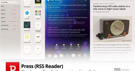 rss reader android press rss reader for android aw center