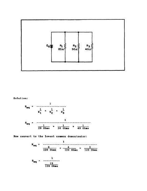 unequal resistors in parallel unequal parallel resistors 28 images parallel circuits explained buildingengineertraining