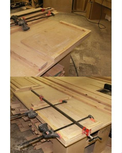 cabinet door cling jig