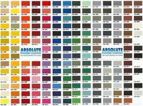 coat colors powder coating ral colors south florida powder coat