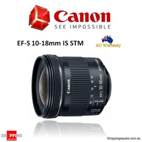 Canon Ef S 10 18mm Is Stm Lensa Kamera canon ef s 10 18mm f 4 5 5 6 is stm dslr lens shopping shopping square au