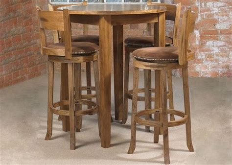 kitchen pub table kitchen dining sets webster cordoba pub table 4