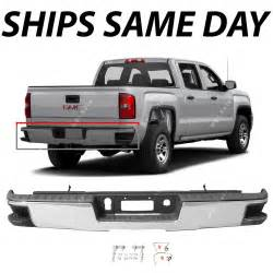 new chrome rear step bumper for 2014 2017 chevy silverado