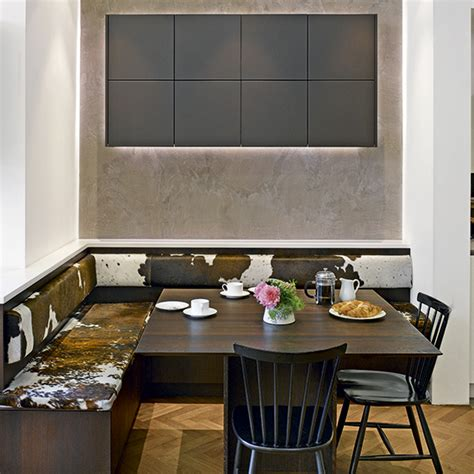 A place to sit which booths and integrated kitchen seating are best for your kitchen ideal home