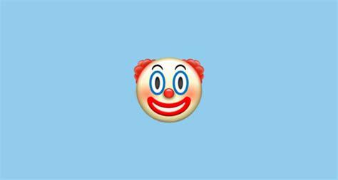 clown face emoji  apple ios