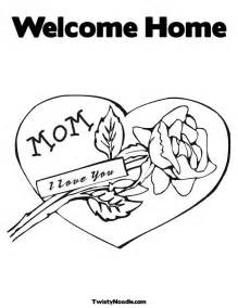 Galerry welcome home coloring pages