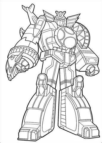 lion zord coloring pages power ranger megazord coloring page free printable