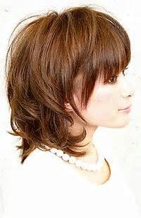 side and back views of shag hairstyle pinterest the world s catalog of ideas