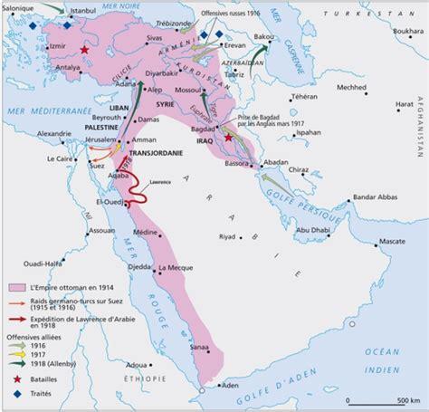Carte De L Empire Ottoman En 1914 by Histoire De La Jordanie Rts Ch D 233 Couverte Monde Et