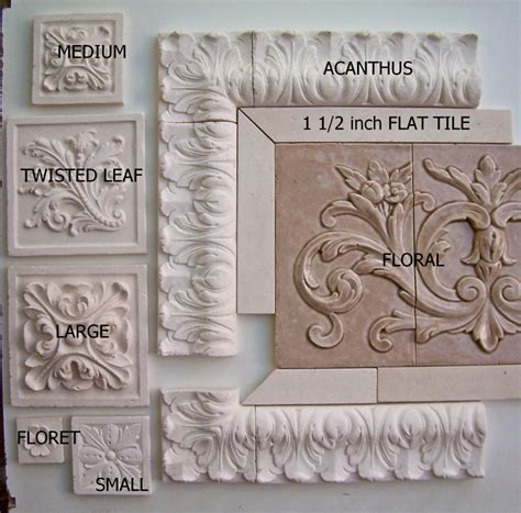 Tile Medallions For Kitchen Backsplash backsplash medallions 2 decorative tile inserts kitchen