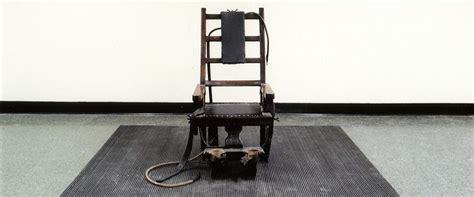 esecuzioni sedia elettrica pena di morte gli usa sono pronti a sperimentare le